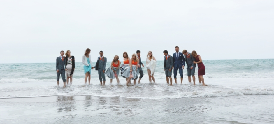 A Beach Wedding in Wales