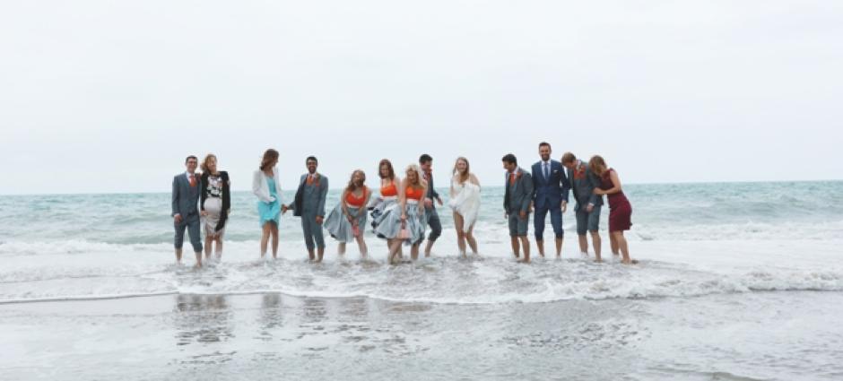 A Beach Wedding in Wales