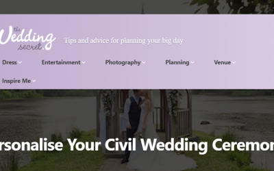 Personalising Your Wedding Ceremony