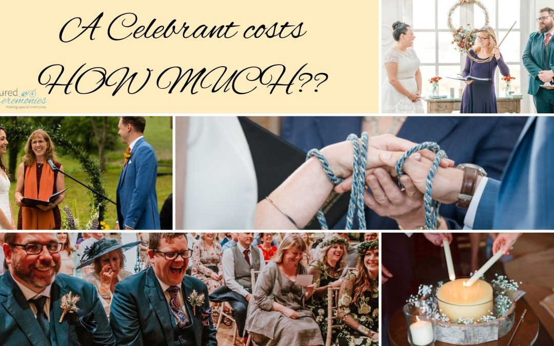 How Much Does A Wedding Celebrant Cost?