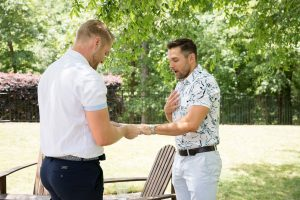 Two men become engaged