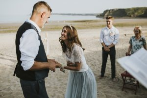 Tying the knot in Tenby